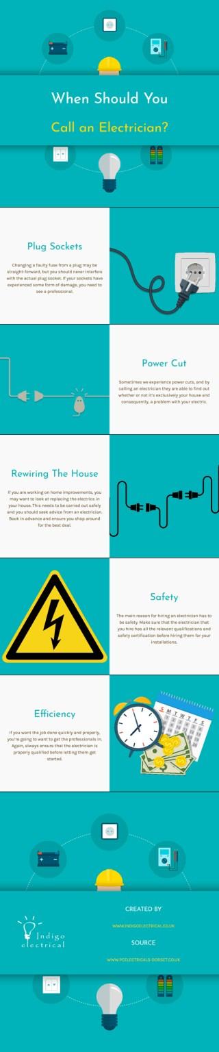 When Should You Call an Electrician?