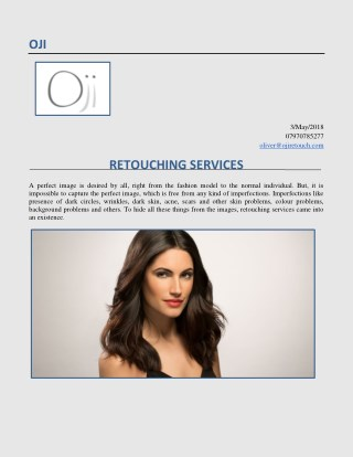 Best Image Retouching Services In UK