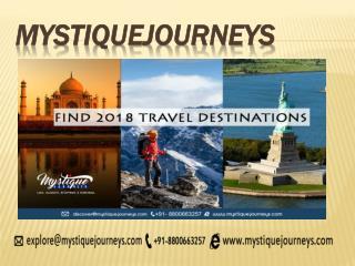 Mystique Journeys - india travel| best travel agency in india| india tours and travels| travel agents in india|travel co