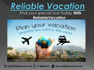 reliablevacation|tour and travel company|nearest travel agency|tour