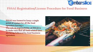 FSSAI License For Food Business in India