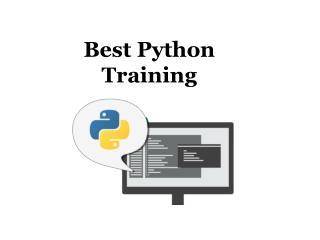 Best Python Training - pythontraining.dzone.co.in
