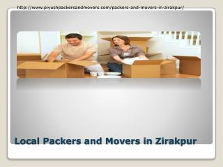 Find Movers and Packers in Zirakpur