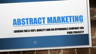 abstract marketing group