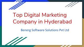 Top Digital Marketing Company in Hyderabad - Benerg