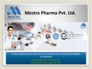 Mestra Pharma Pvt. Ltd.