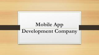 Mobile App Development Company - Hire Dedicated Mobile App Developers
