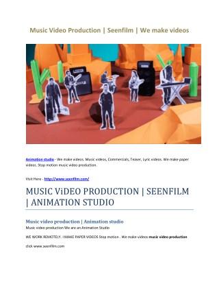 Animation studio