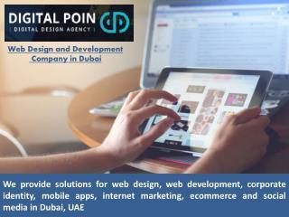 Web Design and Development Company Dubai