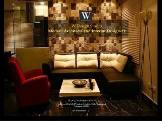 Top Interior designers in hyderabad   Architects in Hyderabad - W Design Studio