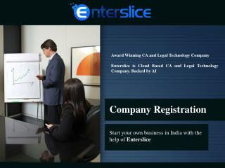 Online Company Registration and formation in India