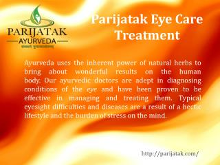 Parijatak Eye Care Treatment