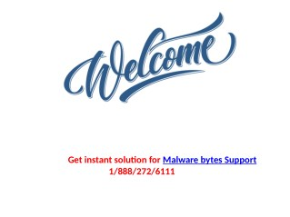How to resolve the issues related to the running of Malwarebytes application?