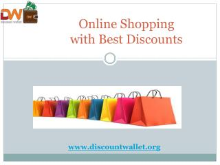 Online Shopping with Best Discounts | Discount wallet