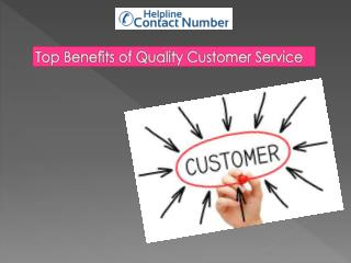Top Benefits of Quality Customer Service