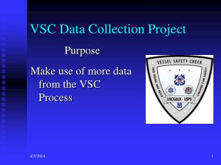 VSC Data Collection Project