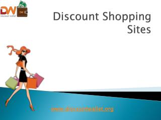 Discount Shopping Sites | Discount Wallet