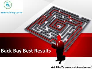 Back Bay Best Results