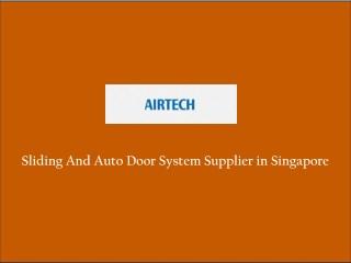 Auto And Sliding Door