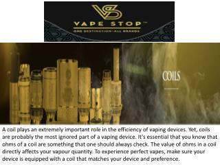 Vape Stop - Buy Vape Coils Online | Vape Coil
