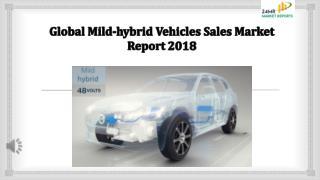 Mild hybrid Vehicles Sales Market Report 2018