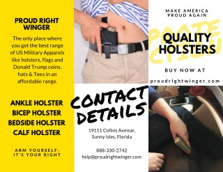 Calf Holster For Self Protection