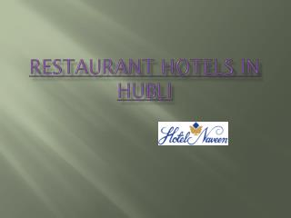 Accomodation in Hubli