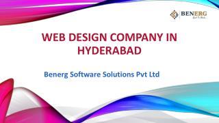 Best web designing company in Hyderabad | Benerg