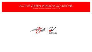 Active Group - upvc Doors & Windows,Aluminium windows,Facade,Q Railing,Sinks