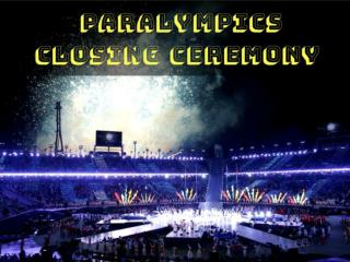 2018 Paralympics Closing Ceremony