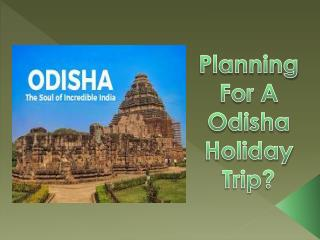Book Best Odisha Holiday Packages With Best Offers