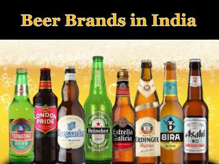 Beer Brands in India