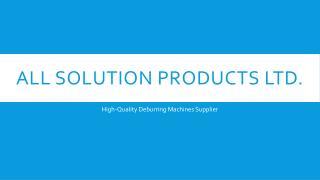 chamfer machines & deburring machine sheet metal