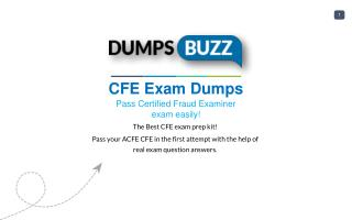 Authentic ACFE CFE PDF new questions
