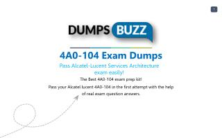 Updated 4A0-104 Dumps Purchase Now - Genius Plan!