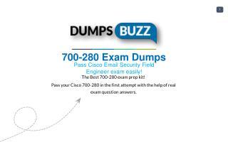 700-280 PDF Test Dumps - Free Cisco 700-280 Sample practice exam questions