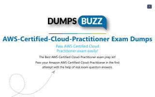 Authentic Amazon AWS-Certified-Cloud-Practitioner PDF new questions