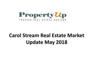 Carol Stream Real Estate Market Update May 2018