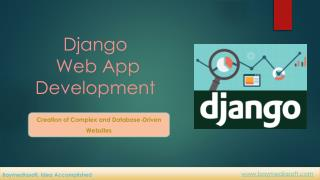Django Web Application Development