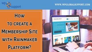 How to create a Membership Site with Rainmaker Platform