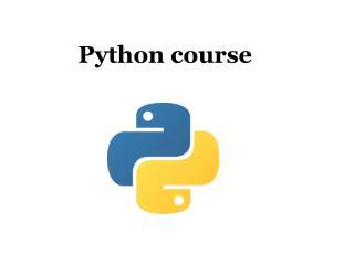 Python course - Pythontraining.dzone.co.in