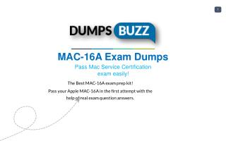 Valid MAC-16A Braindumps - Pass Apple MAC-16A Test in 1st attempt