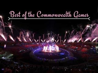Best of the Commonwealth Games