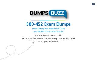 500-452 Test prep with real Cisco 500-452 test questions answers and VCE