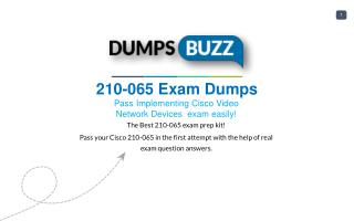 210-065 Test prep with real Cisco 210-065 test questions answers and VCE