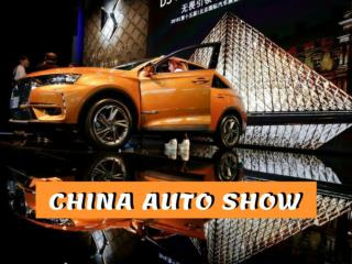 Auto Show China 2018 in Beijing