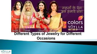 Different Types of Jewelry for Different Occasions