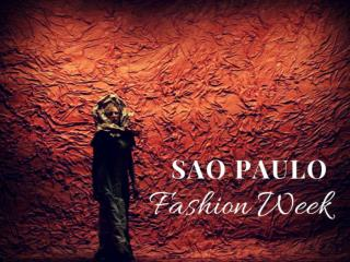 Sao Paulo Fashion Week 2018