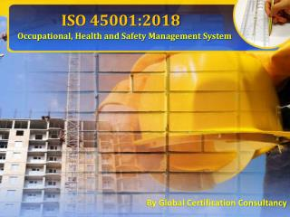 Learn about ISO 45001:2018 and its documentation
