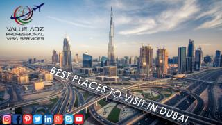 Best Places to Visit in Dubai I Dubai Tourist Places & Attractions